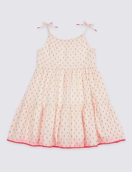 Cotton Rich Dress (3 Months - 7 Years)
