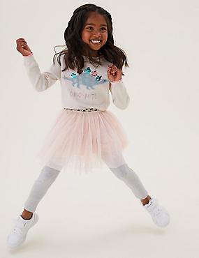 Glitter Tutu Skirt (2-7 Yrs)