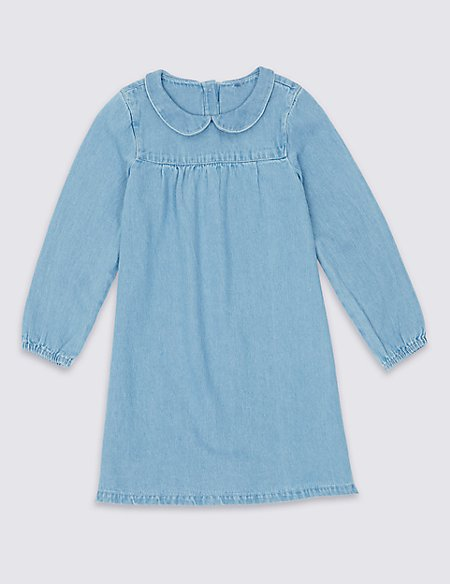 Pure Cotton Dress (3 Months - 5 Years)