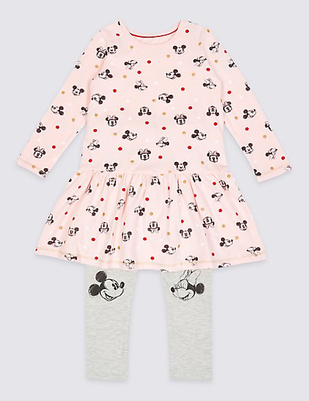 Minnie Mouse™ Top & Leggings Outfit (3 Months - 7 Years)