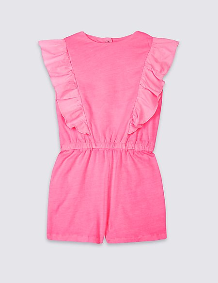 Pure Cotton Playsuit (3 Months - 7 Years)