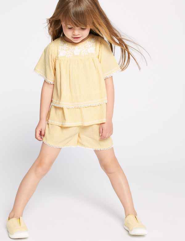 53b665bdaca13 Girls Clothes - Little Girls Designer Clothing Online | M&S