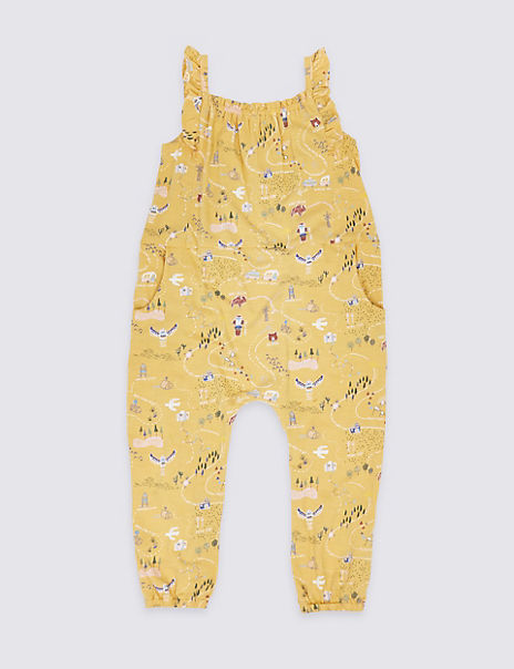 All Over Print Jumpsuit (3 Months - 7 Years)