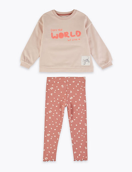 Love the World Sweater Outfit (2-7 Years)