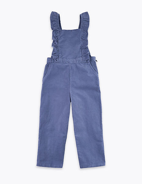 Cord Dungarees (3 Months - 7 Years)