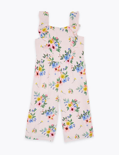 Floral Jumpsuit (2-7 Years)