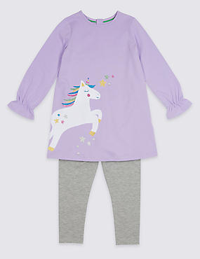 Unicorn Jersey Outfit (3 Months - 7 Years)