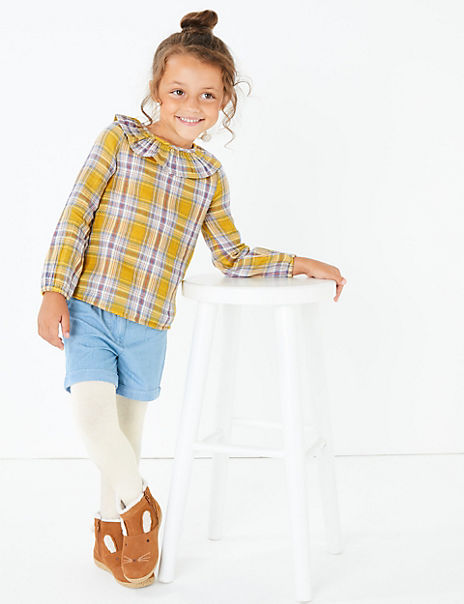 3 Piece Checked Outfit (3 Months - 7 Years)