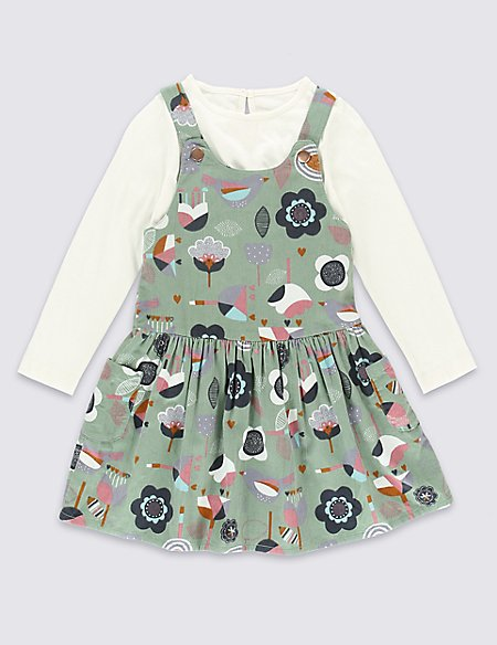 2 Piece Pure Cotton Outfit (1-7 Years)
