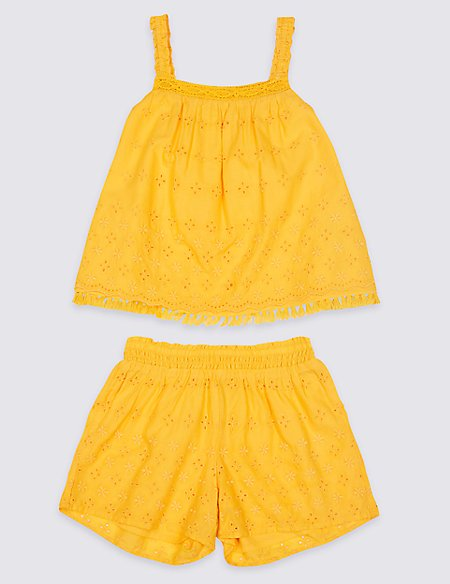 2 Piece Top & Shorts Outfit (3 Months - 7 Years)
