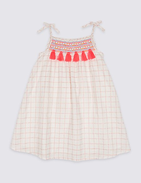 Cotton Rich Dress (3 Months - 7 Years)
