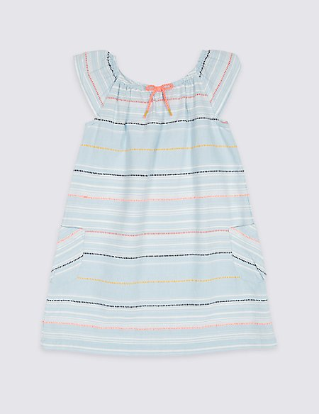 Striped Dress (3 Months - 7 Years)