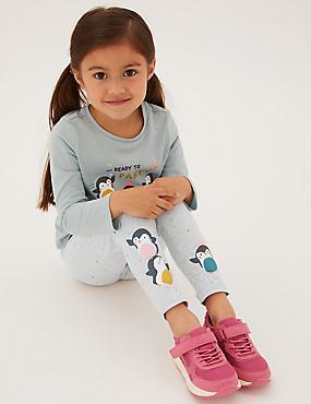 Cotton Penguin Leggings (2-7 Yrs)