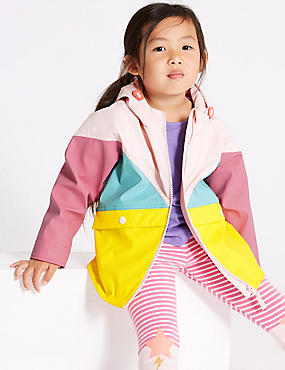 Colour Block Fisherman Coat (3 Months - 7 Years)