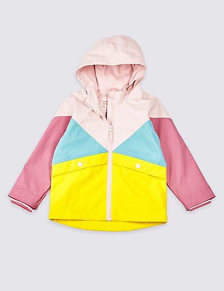 Colour Block Fisherman Coat (3 Months - 7 Years)