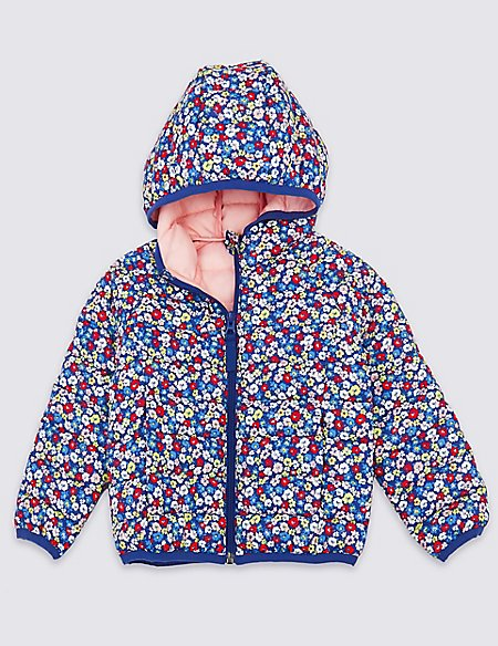 Lightweight Padded Floral Jacket (3 Months - 7 Years)