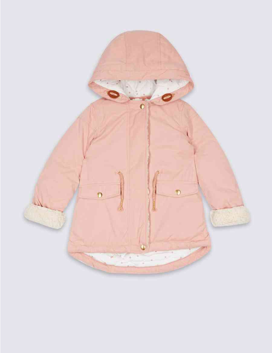 ae078f09d6f5 Cotton Blend Parka with Stormwear™ (3 Months - 7 Years)