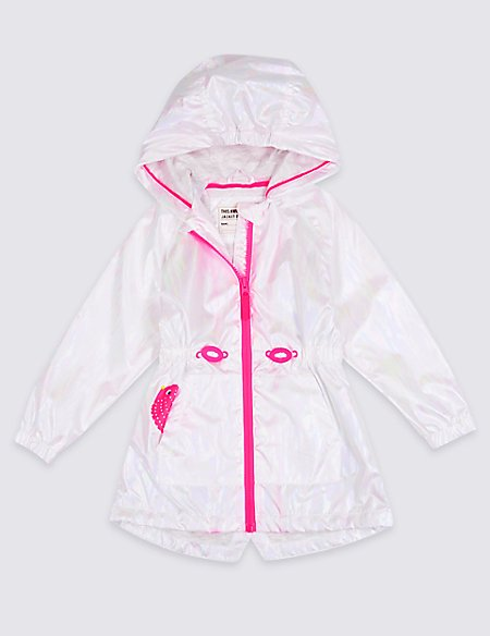 Mermaid Embroidered Coat (3 Months - 7 Years)
