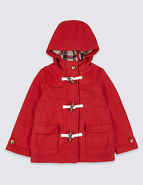Hooded Duffle Coat (3 Months - 7 Years)