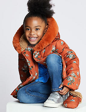 All Over Print Padded Coat (3 Months - 7 Years)