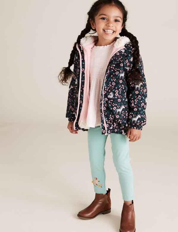 clp60447935: Stormwear™ 3-in-1 Unicorn Mac Coat (2-7 Yrs)