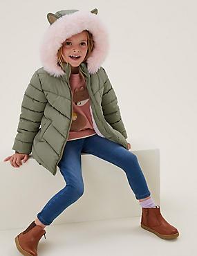 Stormwear™ Faux Fur Lined Padded Coat (2-7 Yrs)