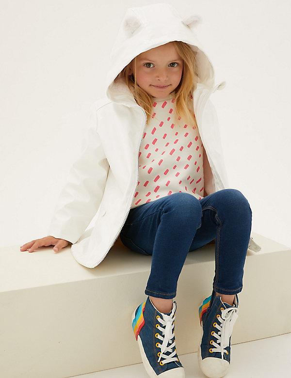 Stormwear™ Star Print Fisherman Jacket (2-7 Yrs)