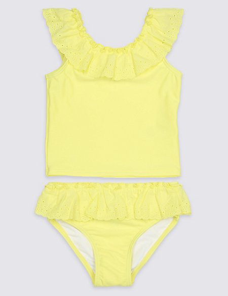 Tankini Set with Sun Safe UPF50+ (3 Months - 7 Years)