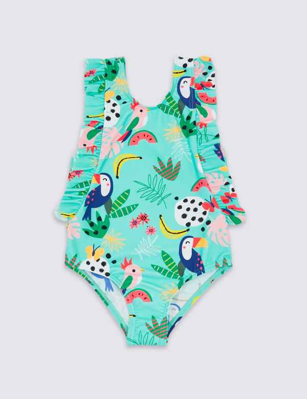 e5cf2d7417 Tropical Swimsuit (3 Months - 7 Years)