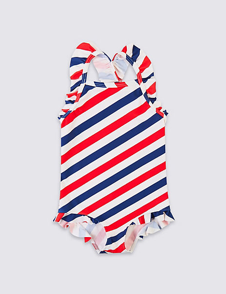 Striped Swimsuit (3 Months - 7 Years)