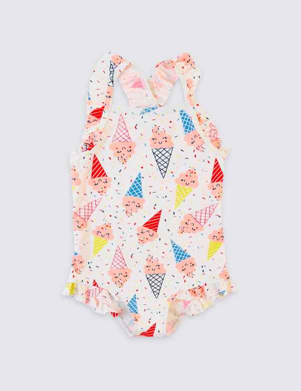 2a7cb64558 Ice Cream Swimsuit (3 Months - 7 Years)