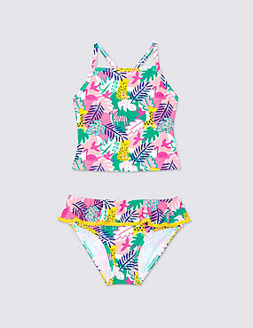 Jungle Print Tankini Set (0-5 Years)