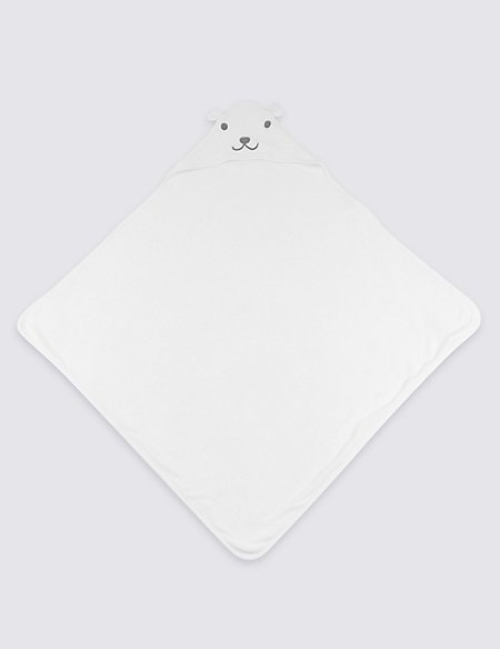 Organic Cotton Hooded Towel