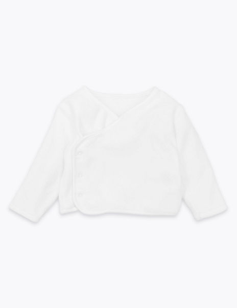 Organic Cotton Velour Cover-Up Top
