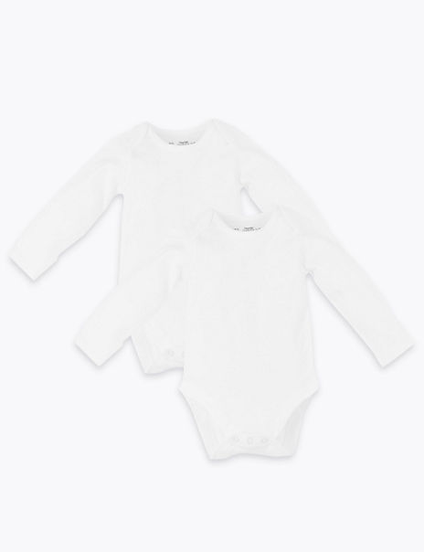 2 Pack Dreamskin® Pure Cotton Bodysuits