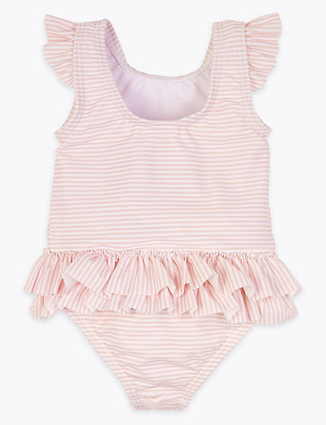 Seahorse Striped Swimsuit
