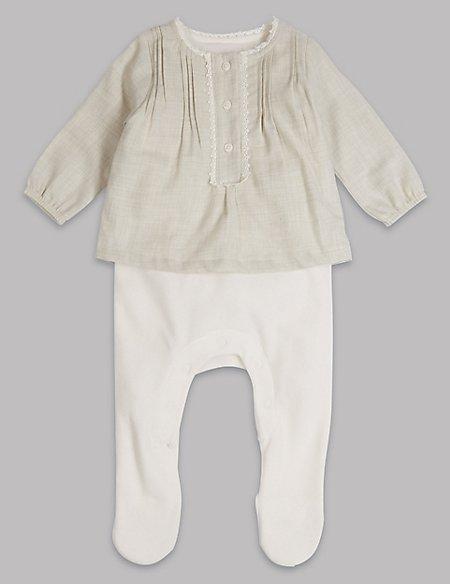 Woven Sleepsuit