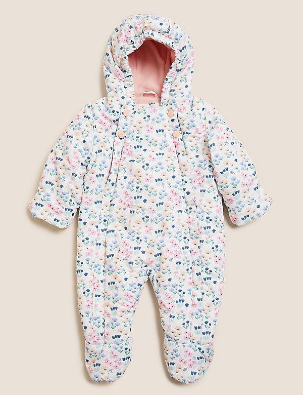 Stormwear™ Floral Snowsuit (0-3 Yrs)