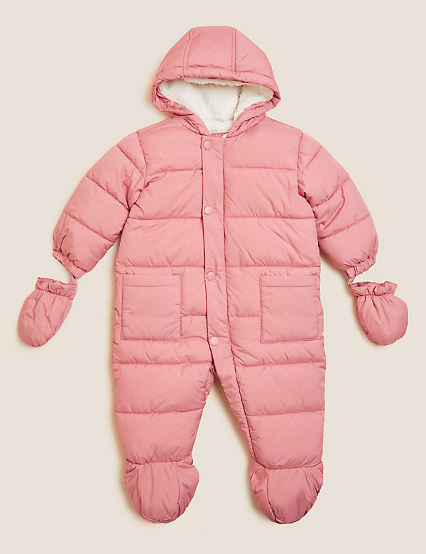 Snowsuit with Mitts and Booties (0-3 Yrs)