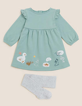 2pc Cotton Animal Outfit (0-3 Yrs)