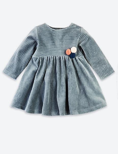 Cotton Pom Pom Dress
