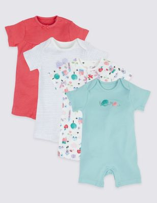 First Size 0-3 High Quality Set Of 2 Next Bunny Baby Grows Sleepsuits Girls Babygrows & Playsuits Clothes, Shoes & Accessories