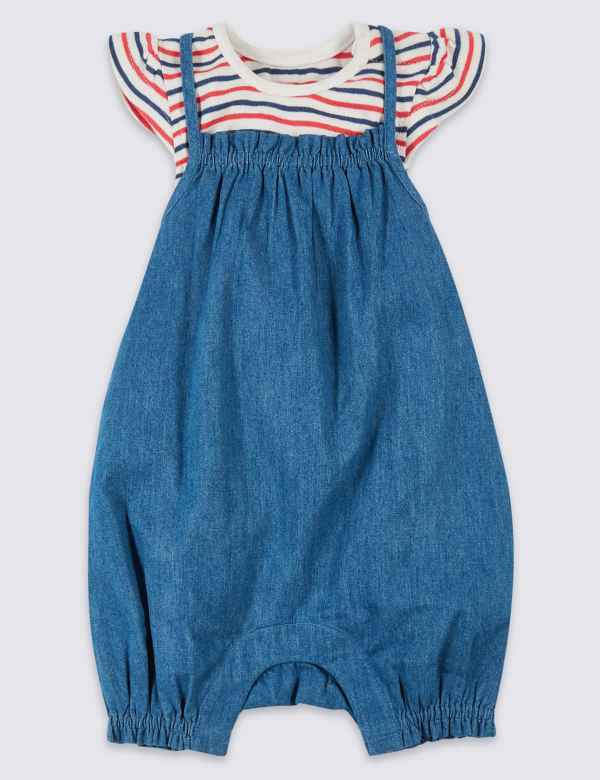 Red Baby Summer Dress Size 18-24 Months With Boats Houses Sunshine Sun Holiday Refreshment Girls' Clothing (0-24 Months) Baby