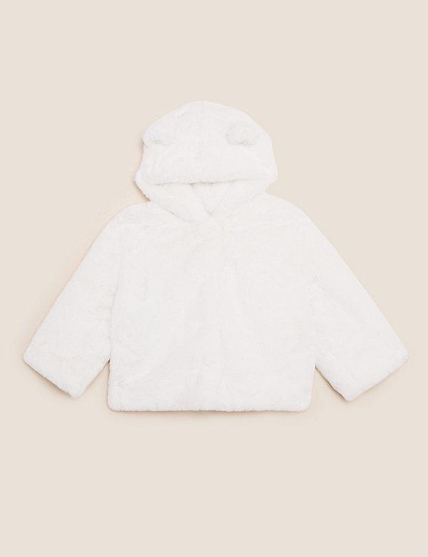 Faux Fur Coat (0-3 Yrs)