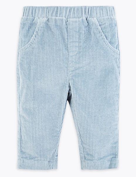 Cotton Rich Cord Trousers