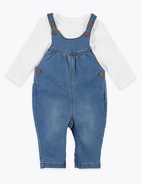 2 Piece Dungaree Outfit