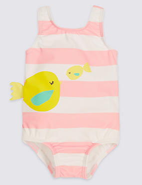Fish Frill Swimsuit