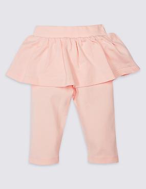 Cotton Rich Integral Skirt & Leggings