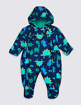 Dinosaur Snowsuit