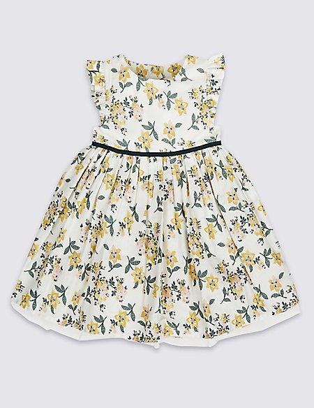 Pure Cotton Ditsy Dress